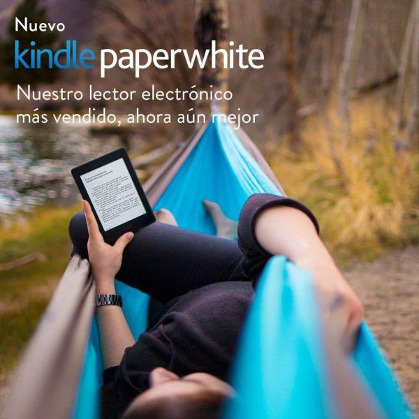Foto Kindle en hamaca
