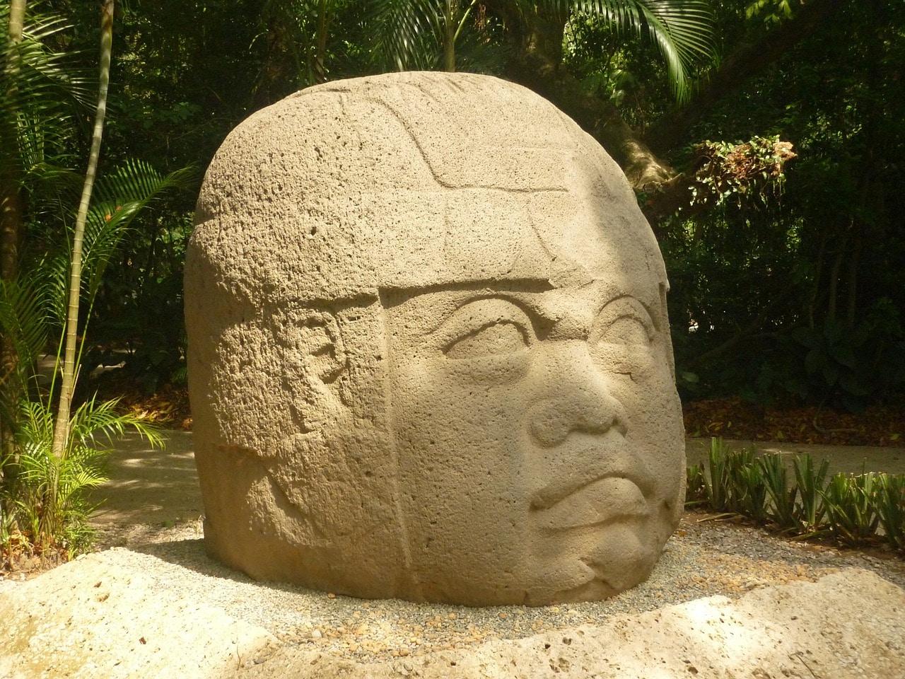 cabeza Olmeca, Estado de Tabasco