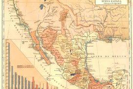 Mapa de México con nombres y sin nombres