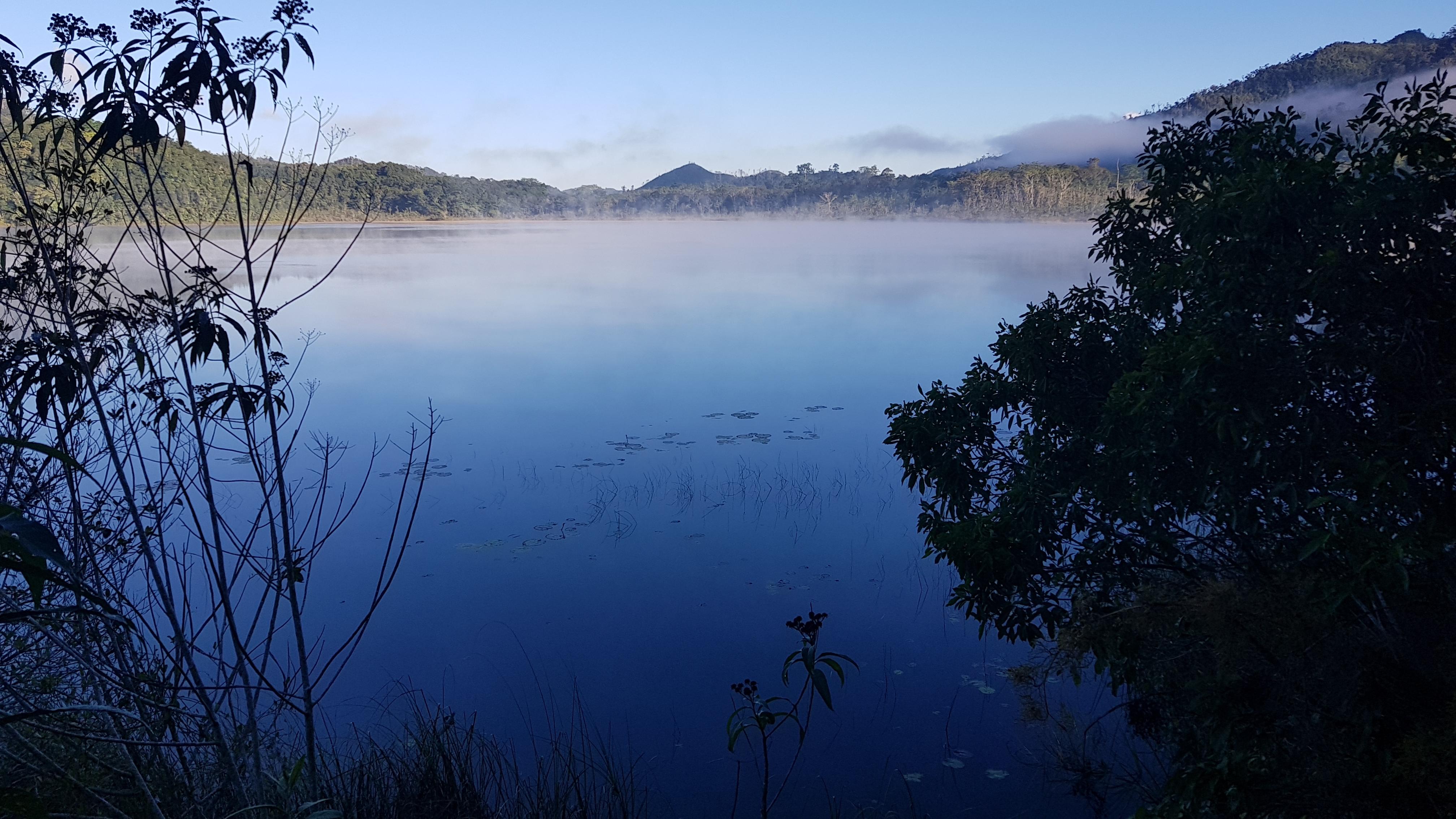 Áreas naturales de México Foto Laguna Nahá Selva Lacandona