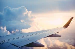 Avion viaje reserva