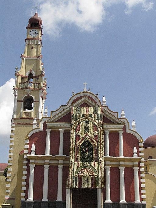 Iglesa de san Jerónimo en Coatepec Pueblo Mágico de Veracruz